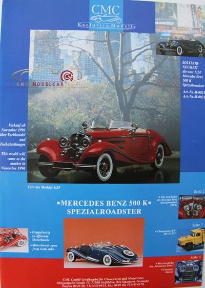 CMC Zweiter Katalog 1995/96 Rarität