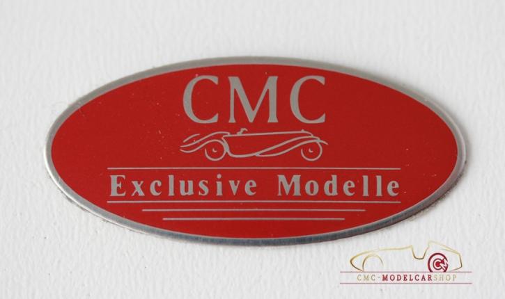 CMC Schild Edelstahl klein