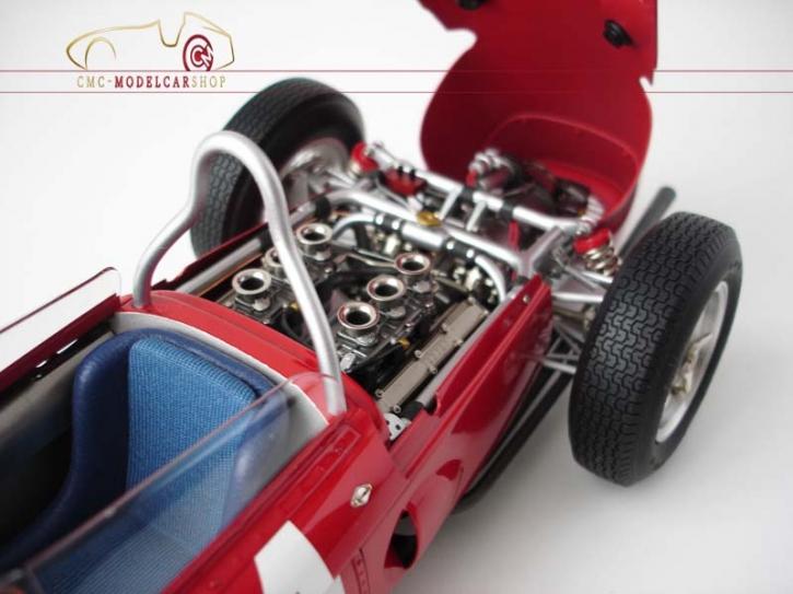 CMC Ferrari Dino 156 F1 #4 Phil Hill, Sharknose, Spa GP Belgien 1961, 1:12, Limited Edition 500