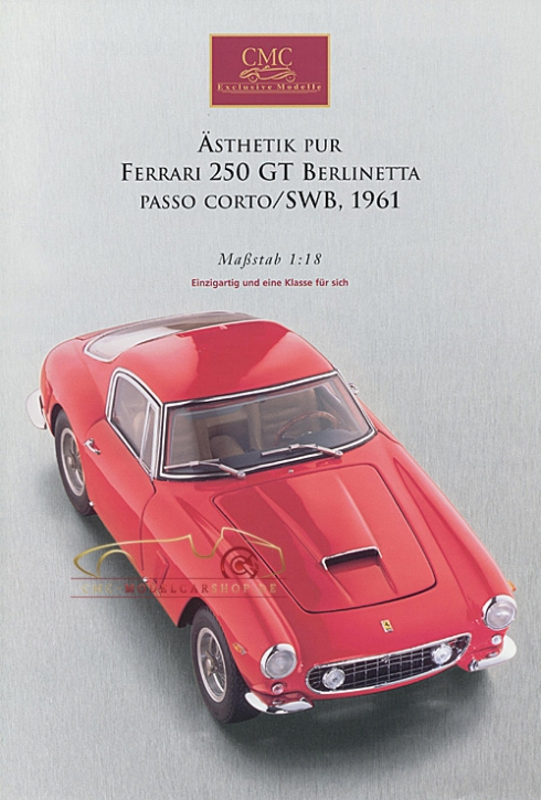 CMC Modell Prospekt Ferrari 250 GT Berlinetta,1961