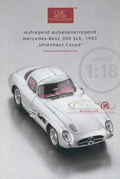 CMC modèles brochure Mercedes-Benz 300 SLR, 1953