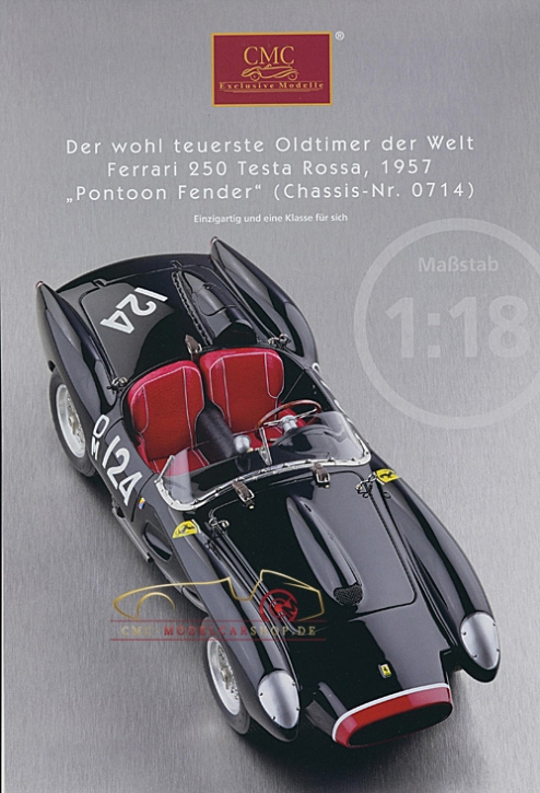 CMC model car brochure Ferrari 250 Testa Rossa, 1957