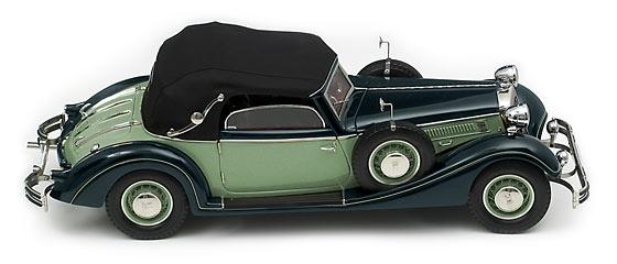 CMC Horch 853, 1937, schwarzgrün/hellgrün
