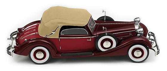 CMC Modell Horch 853, 1937, dunkelrot/hellrot C-002