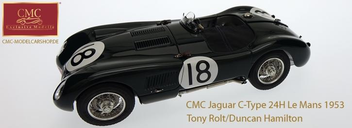 CMC Jaguar C-Type 1953 24H France Winner #18 Tony Rolt/Duncan Hamilton