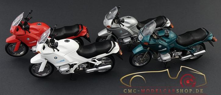 CMC BMW Motorrad R1100 RS, 1:12 silber metallic