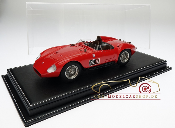Atlantic Vitrine Mulhouse leather Black 1:18 model cars