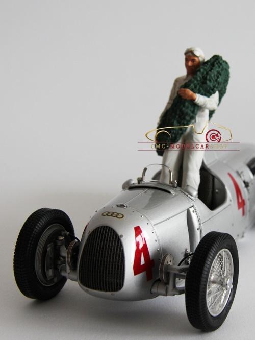 Figutec Bernd Rosemeyer, Figur 1:18, Auto Union 1936