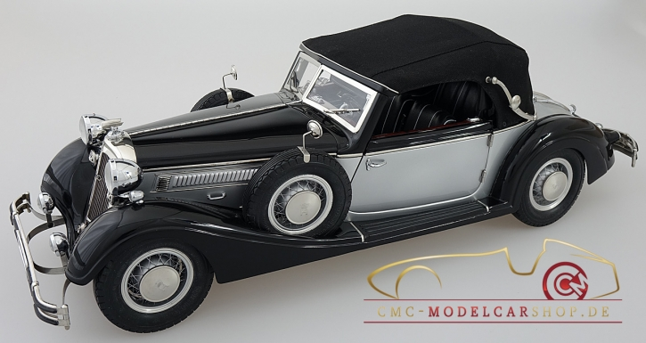 CMC Modell Horch 853, 1937, schwarz/silber C-001