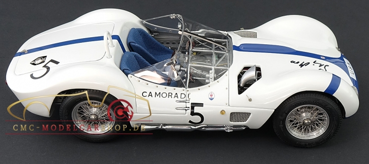 CMC Maserati Tipo 61 Birdcage, 1960, sign. Stirling Moss