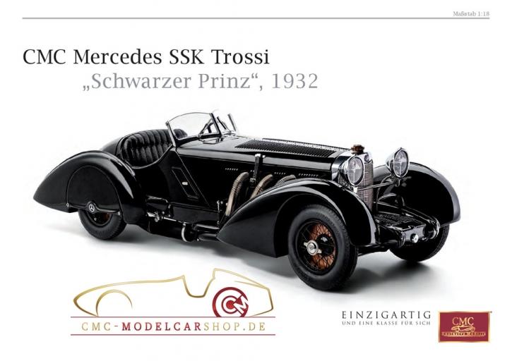 CMC Prospekt Mercedes SSK Trossi, Schwarzer Prinz