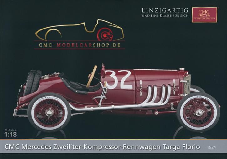CMC Modell Prospekt Mercedes-Benz Targa Florio