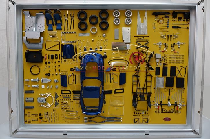 CMC Model Art Ferrari 250 GTO Bleu Panneau d'affichage pièces