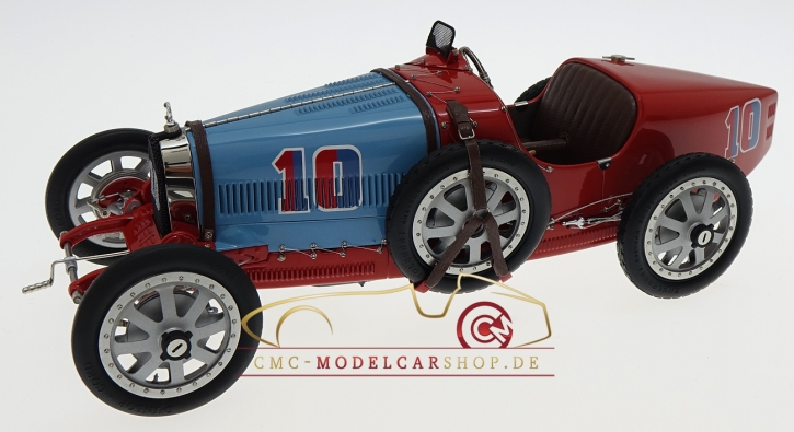 CMC Bugatti T35 Chili #10, Nation Color Project