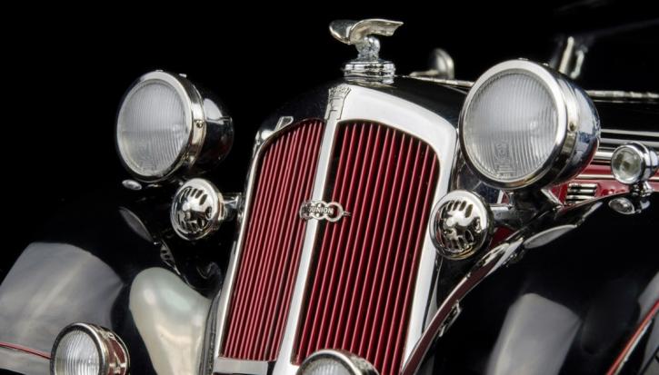 CMC Horch 853, 1937, rot/schwarz C-010