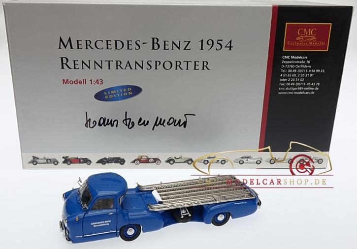 CMC Mercedes-Benz Renntransporter, Hans Herrmann, 1/43