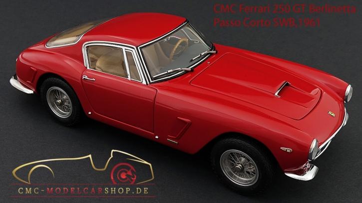 CMC Ferrari 250 GT Berlinetta Passo Corto/SWB, 1961 Straßenversion