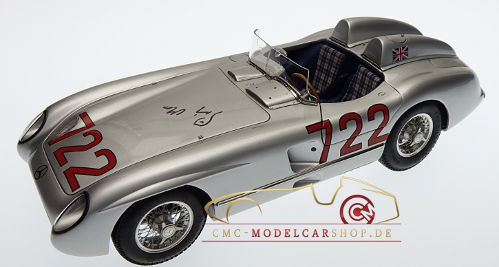 CMC Mercedes-Benz 300 SLR, Mille Miglia, Original signiert Sir Stirling Moss