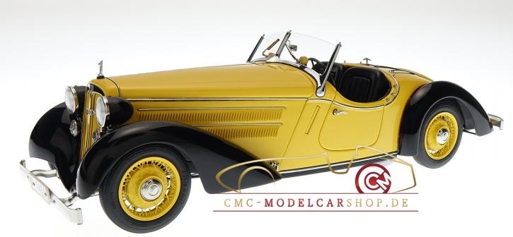 CMC Audi Front 225 Roadster, 1935, black/yellow