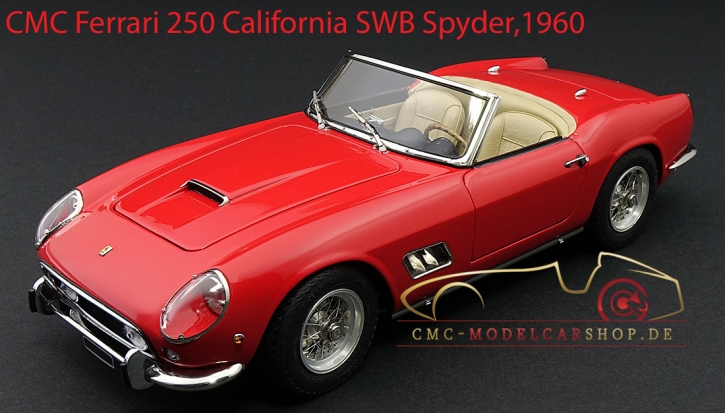 CMC Ferrari 250 SWB California Spyder red 1960