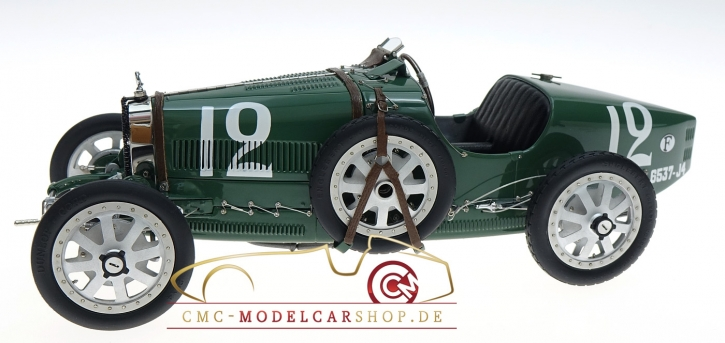 CMC Bugatti T35 GP England #12 green