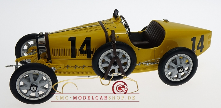 CMC Bugatti T35 Belgien #14, Nation Color Project