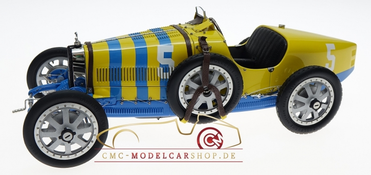 CMC Bugatti T35 Schweden #5, Nation Color Project