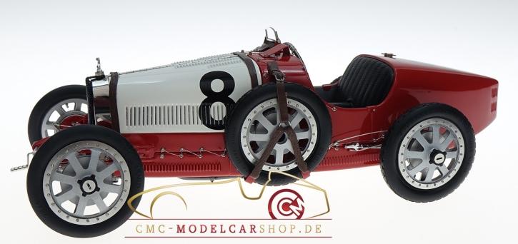CMC Bugatti T35 Switzerland #8, Nation Color Project
