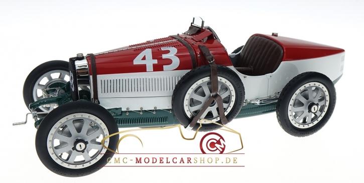 CMC Bugatti T35 Hongrie #43, Nation Color Project