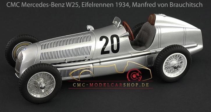CMC Mercedes-Benz W25, 1934 Eifelrennen #20 M.v.Brauchitsch