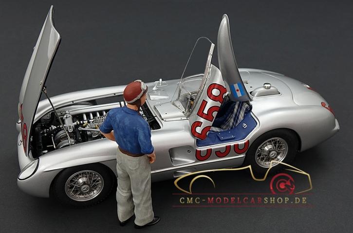 CMC Mercedes-Benz 300 SLR #658 Fangio, 5. Collectors Edition
