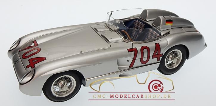 CMC Mercedes-Benz 300 SLR, #704 Hans Herrmann, Mille Miglia 1955