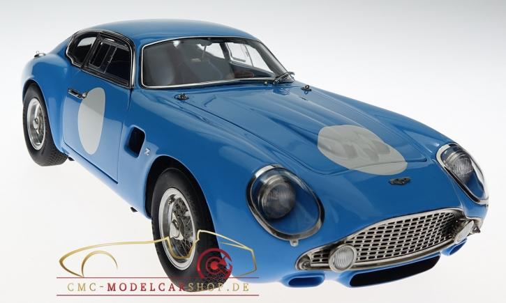 CMC Aston Martin DB4 GT Zagato Rennversion blau 1961