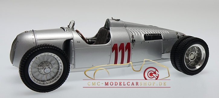 CMC Auto Union Typ C Hillclimb version, 1937 Schauinsland GP Germany #111 Hans Stuck