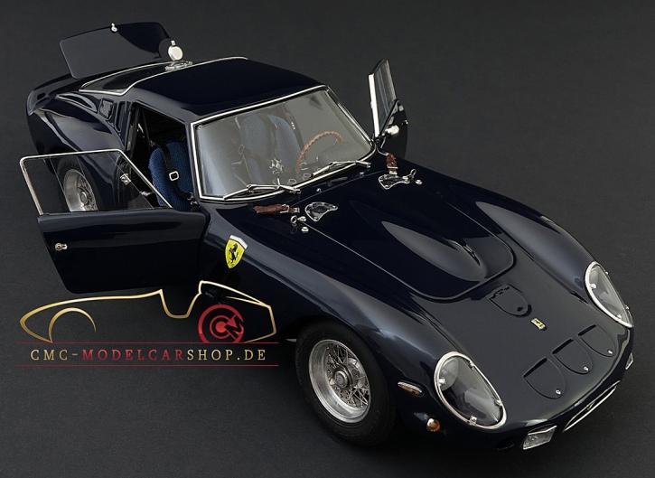CMC Ferrari 250 GTO, 1962 Mitternachtsblau, 4. Collectors Edition