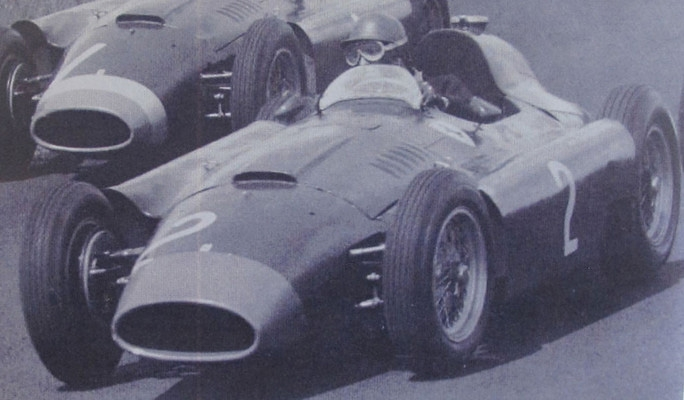 CMC Ferrari D50, 1956 long nose, GP Germany #2 Collins