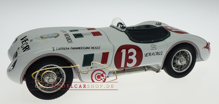 CMC Jaguar C-Type 1953/54 Panamericana #13 Francisco Ibarra/Fernando Pinal