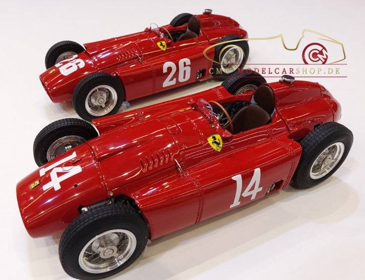 "CMC Lucky Set ""Collins"" Ferrari D50 short nose #14+Ferrari D50 long nose #2+Ferrari D50 short nose #26"