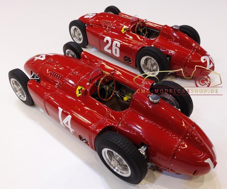 """CMC Lucky Set """"Collins"""" Ferrari D50 short nose #14+Ferrari D50 long nose #2+Ferrari D50 short nose #26"""