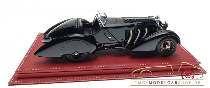 "CMC Mercedes SSK ""Schwarzer Prinz"" inkl. Atlantic Vitrine"