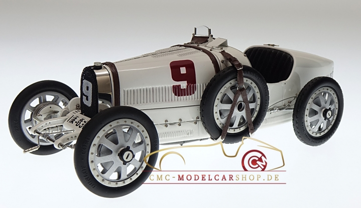 CMC Bugatti T35 #9 GP Deutschland, Nation Color Project
