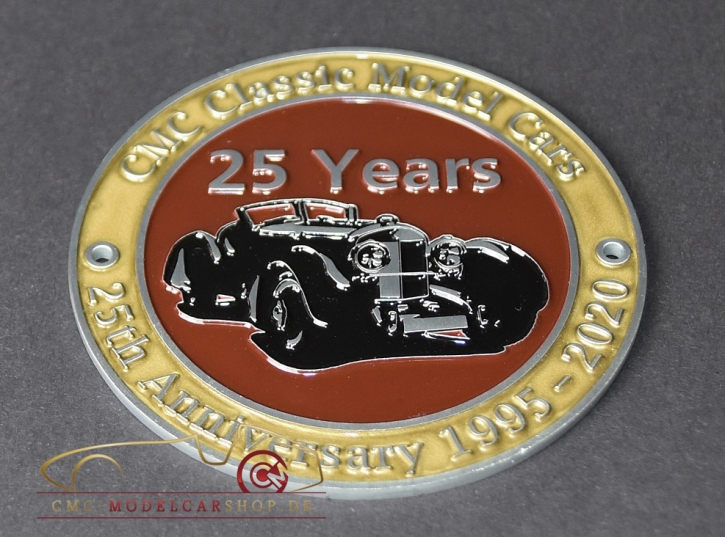 Medaille 25 Ans CMC
