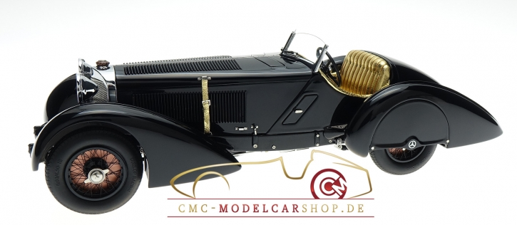 "CMC Mercedes SSK Trossi 1932 ""Black Prince"" Memorial Edition"