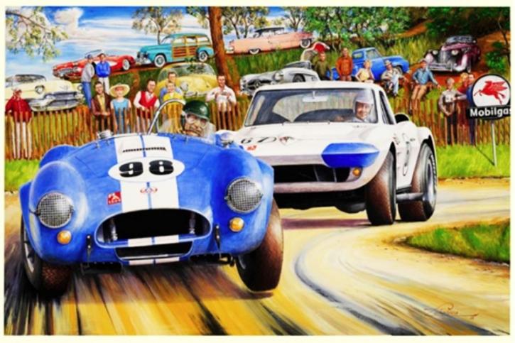Cobra versus Grand Sport