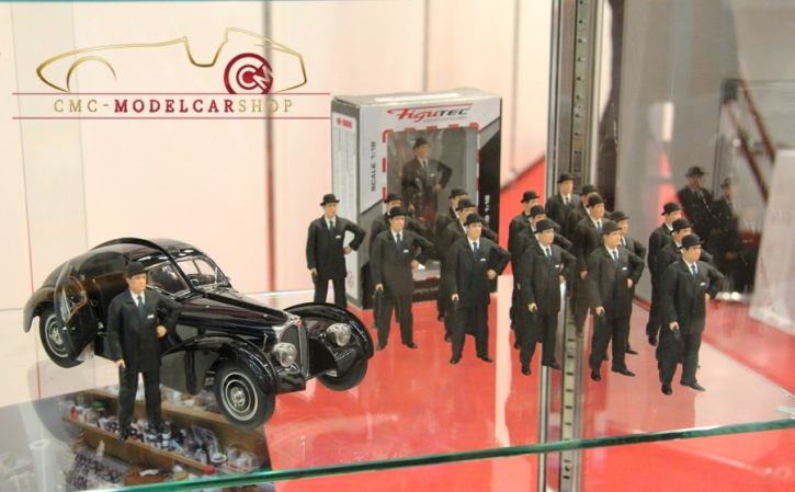 Figutec Ettore Bugatti Figur 1:18