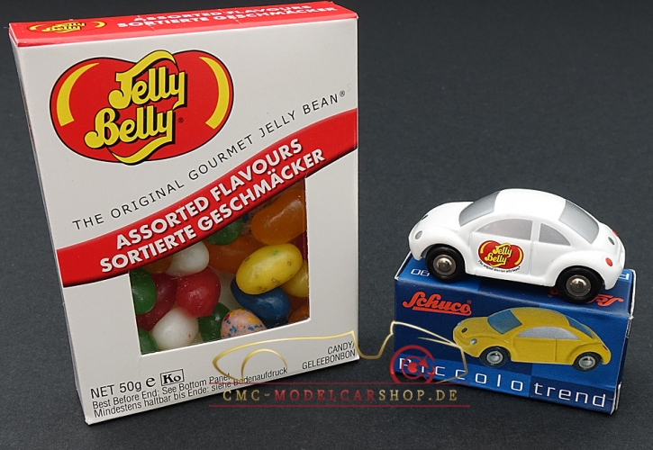 Schuco Piccolo VW New Beetle Jelly Belly