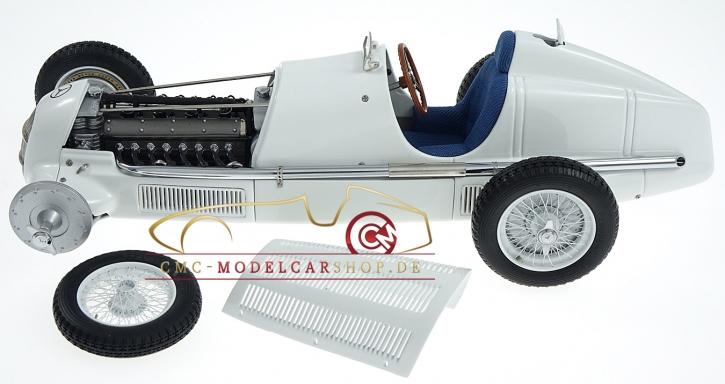 CMC Mercedes-Benz W25, Ein Mythos in weiß, 1934