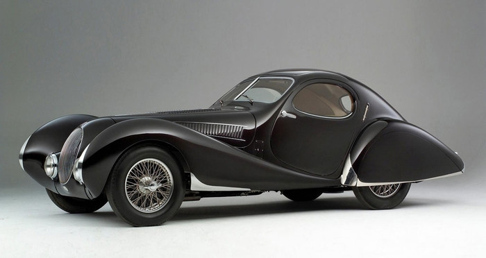 "CMC Talbot-Lago Coupé Typ 150 C-SS Figoni & Falaschi ""Teardrop"", 1937-39, schwarz"