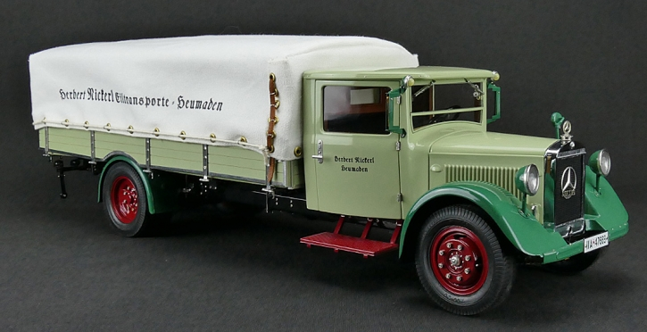 CMC Mercedes-Benz LO 2750, 1934-38 Truck with tarpaulin