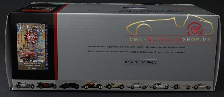 "CMC Mercedes-Benz 300 SLR ""DIRTY HERO ®"", 2. Collectors Edition"